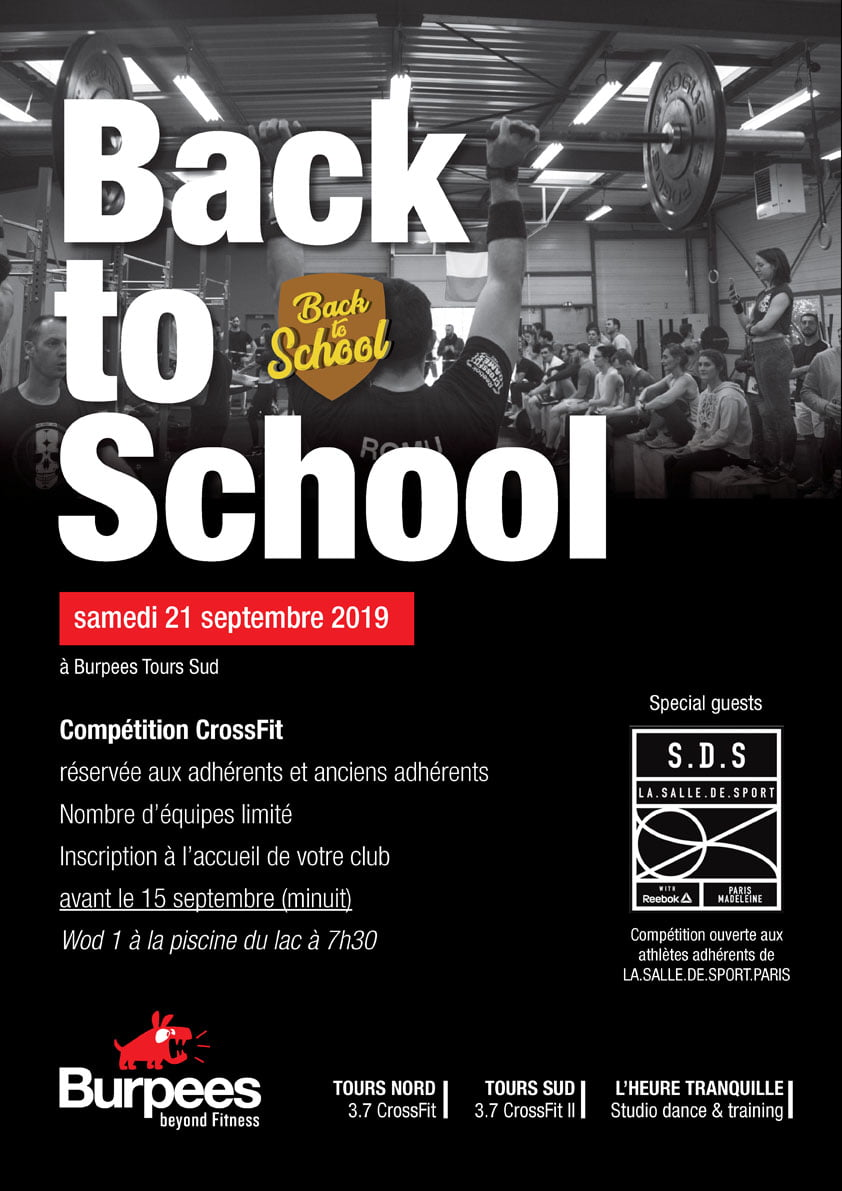affiche Back to scholl